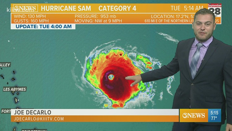 TROPICAL UPDATE: Sam and multiple tropical waves churn in Atlantic