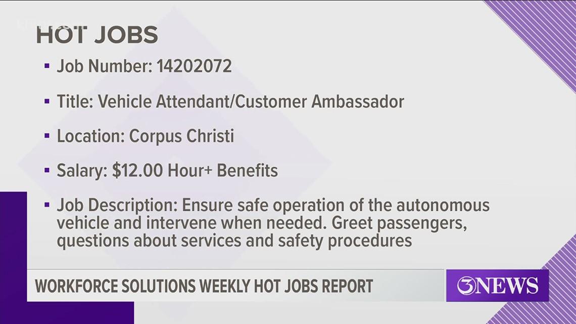 Hot Jobs: Sept. 29, 2020