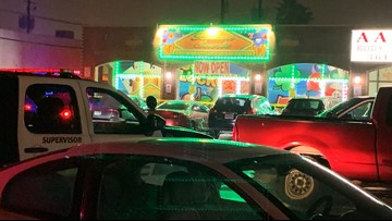 Image result for Police respond to shooting at Buena Suerte Game Room, search for suspects