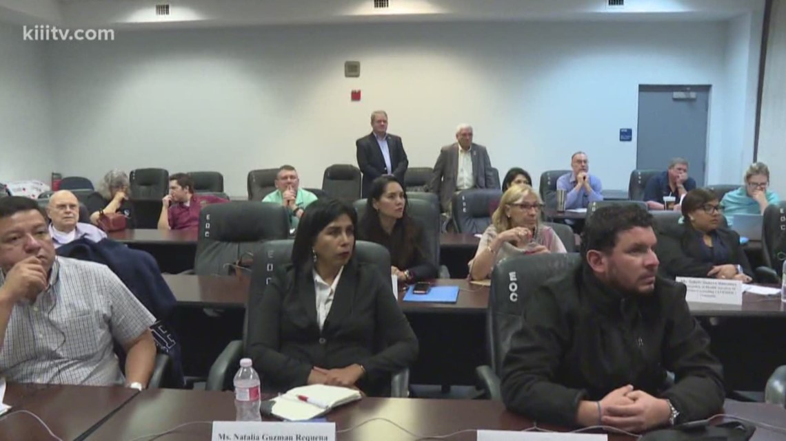 Latin American visitors learn about disaster recovery in Rockport, Texas