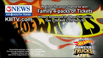 'Hot Wheels Monster Trucks Live' ticket giveaway contest