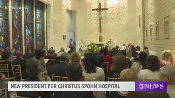 Christus Spohn Health System commissions new president