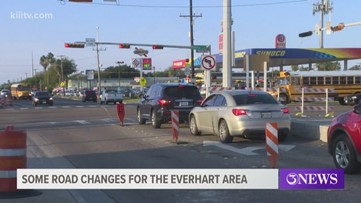 Major traffic changes underway for Everhart Road