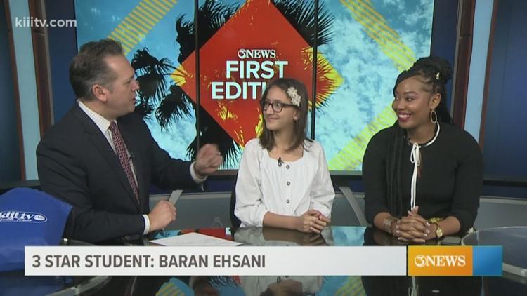 3Star Student: Baran Ehsani