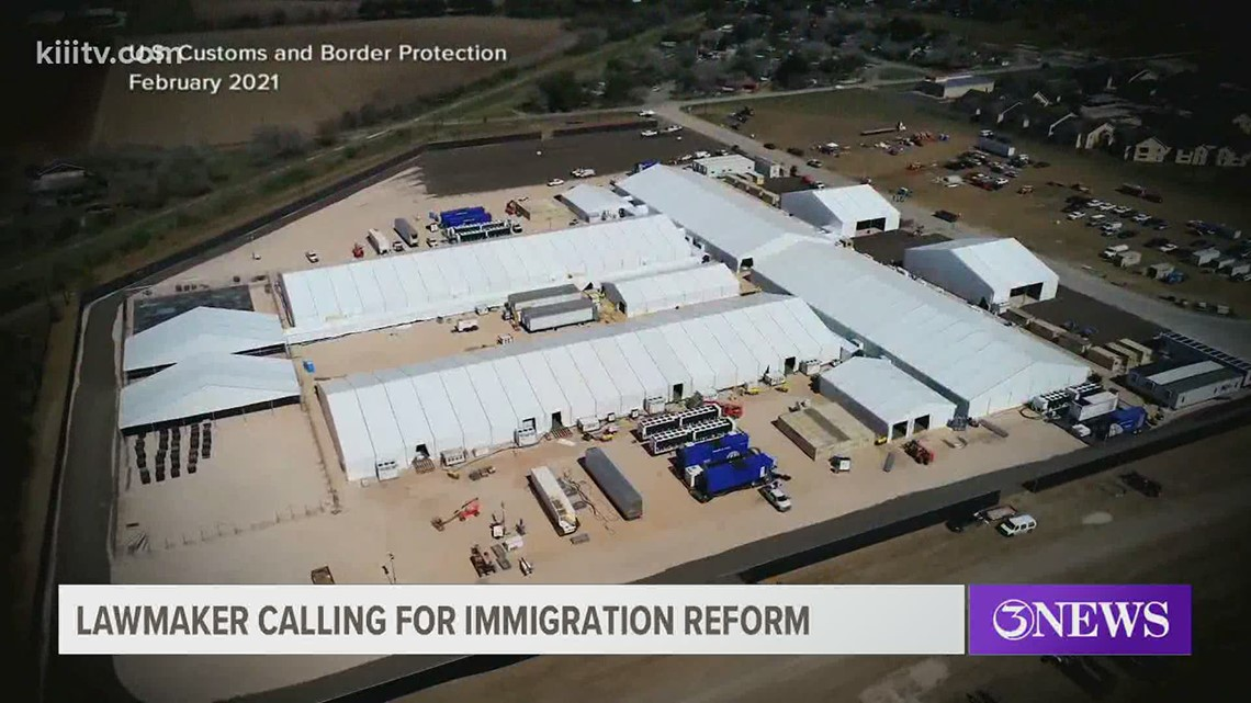 Texas lawmaker calling for immigration reform from the Biden administration