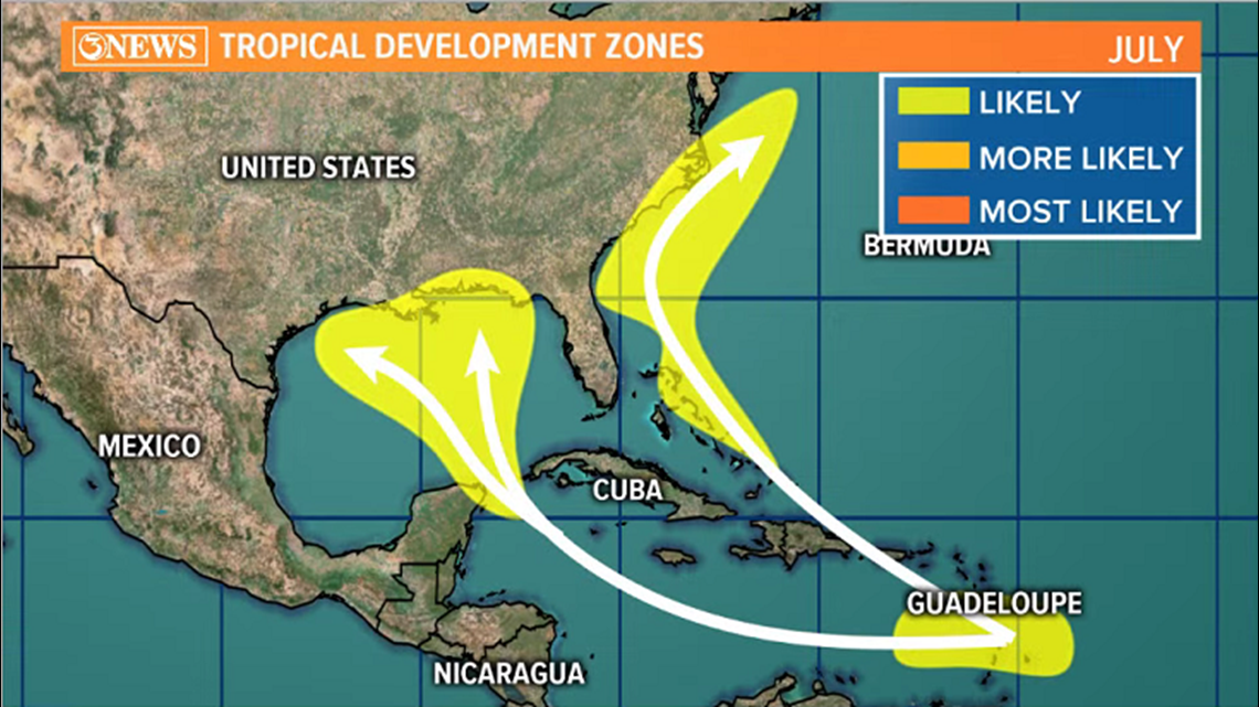 WEATHER BLOG: Tropics in July