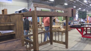 Agricultural mechanic projects featured at Livestock Show