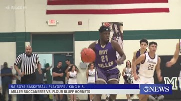Miller boys basketball has comeback win over Flour Bluff in Bi-District round & Tuesday night scores