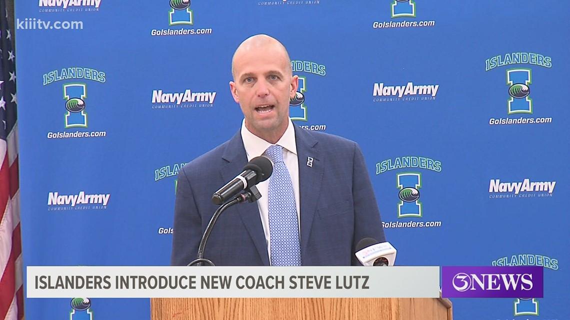 Islanders introduce new MBB Coach Steve Lutz - 3Sports