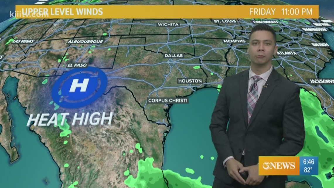 Slim Rain Chances; Partly Cloudy And Hazy Sunshine