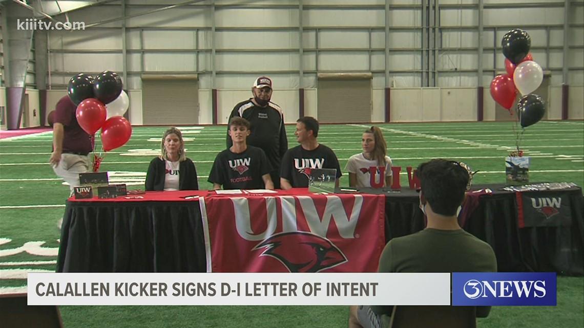 Calallen's Kieschnick signs with UIW - 3Sports