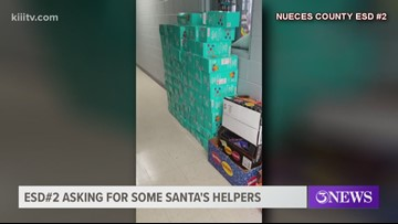 Nueces County EDS #2 asking for Santa's helper