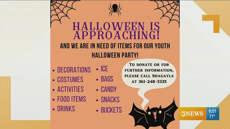Help The Purple Door give kids a happy Halloween