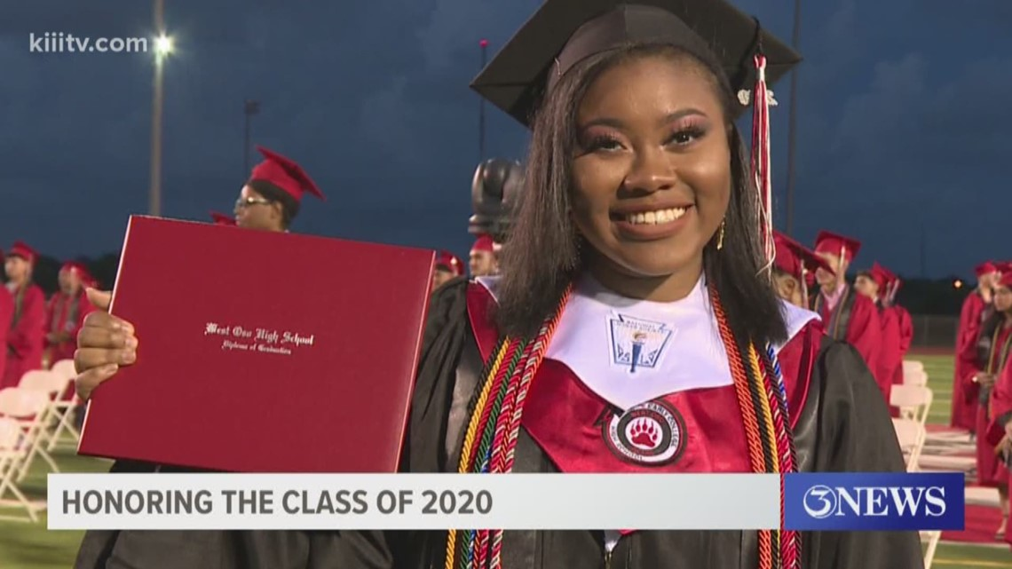Celebrating the class of 2020: West Oso Graduate Jamia Morgan