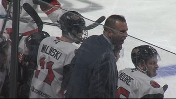 IceRays fall into series tie with Amarillo