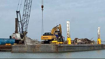 City of Corpus Christi removing La Niña Downtown Marina, restoration too pricey