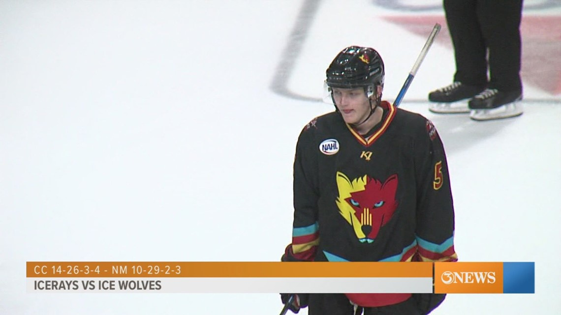 IceRays fall to Ice Wolves in shootout - 3Sports