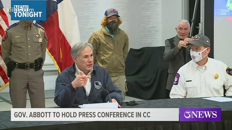 Governor Abbott to visit Fire Station 18 in Corpus Christi to honor fire department for elderly vaccine program