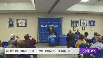 New head football coach welcomed at Texas A&M University-Kingsville