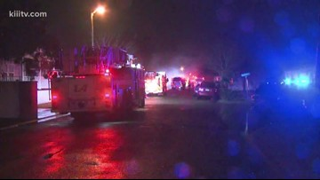 Family of five left homeless after Misty Winds mobile home fire