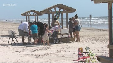 Families travel to Corpus Christi for the Easter weekend