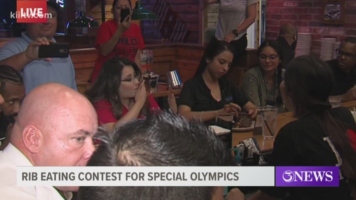 Annual rib eating contest, Tip-a-Cop event raises funds ...