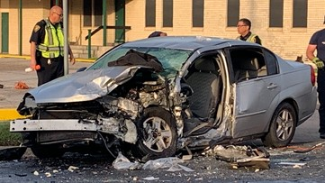 Two hospitalized with life-threatening injuries after crash on Gollihar Road,