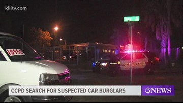 CCPD in search of four suspected burglars