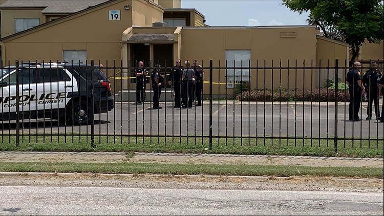 Officer identified after being shot at Watercolor Apartments, suspect still on the loose