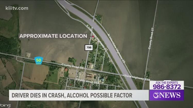Driver dies in single-vehicle crash in Live Oak County