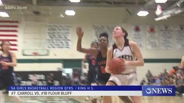 Flour Bluff girls basketball tops Carroll, Bishop upsets Odem & scores