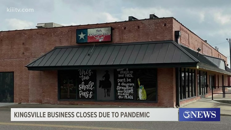 Winter storm puts STX Hole In The Wall in Kingsville out of business