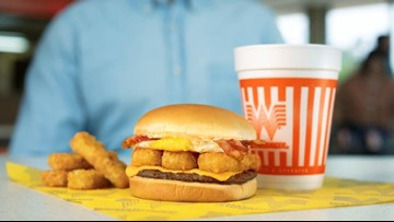 Whataburger's new Breakfast Burger has a little bit of everything