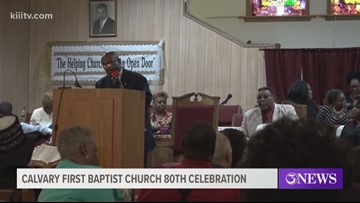 Be a part of the Calvary First Baptist Church 80th anniversary