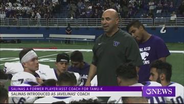 Javelinas introduce new football coach Salinas - 3Sports
