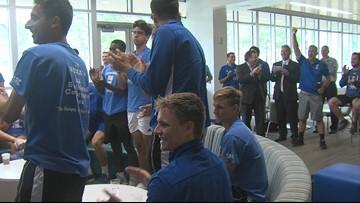 Islanders men's tennis draws Aggies in NCAA Tournament