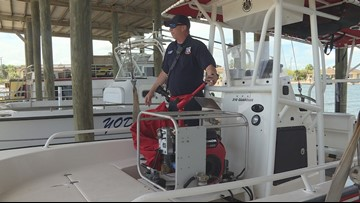After boat capsizes, fire official offers water safety tips