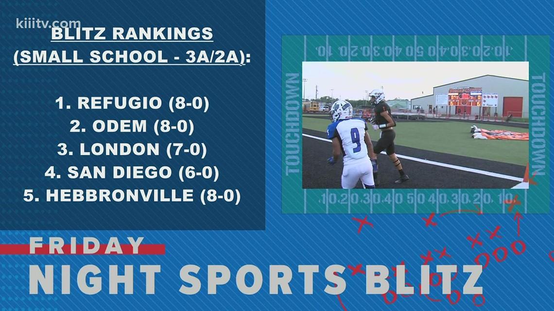 Friday Night Sports Blitz Rankings: Week 9