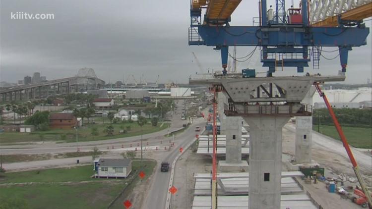 TxDOT suspends design work of new Harbor Bridge project