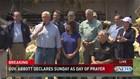 Vice President speaks outside Rockport church devastated by Harvey