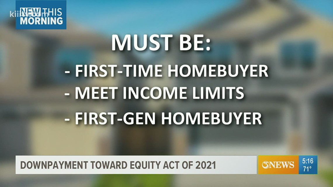 New bill could offer financial help to first-time homebuyers