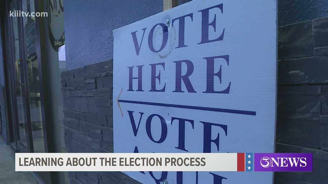 High School students are stepping up to contribute to the election process