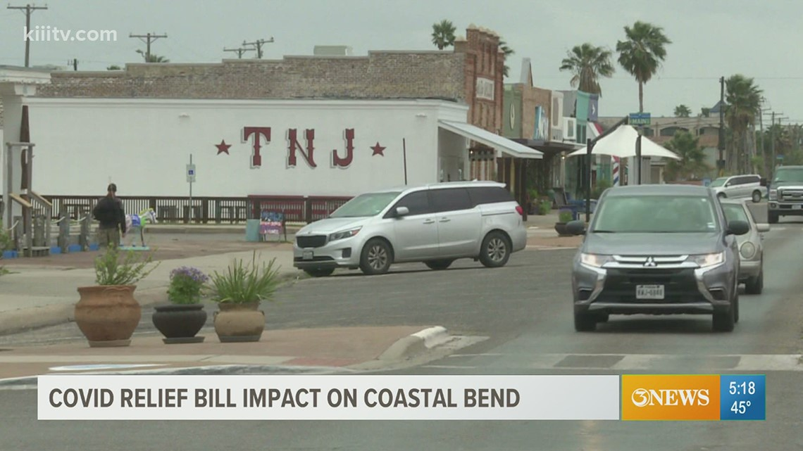 COVID-19 relief bill impact on the Coastal Bend