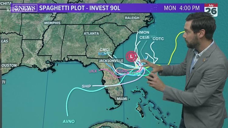 Alan Holt KIII South Texas Weather Forecast 07-23-2021