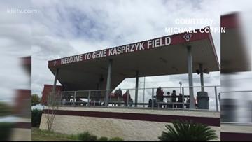 Sinton dedicates baseball field to 3-time State Champion coach Gene Kasprzyk - 3Sports