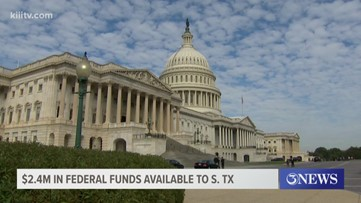 Federal government approves $2.4 million in recovery grants for South Texas