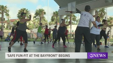 'Safe-Fun-Fit at the Bayfront' kicked off Saturday morning