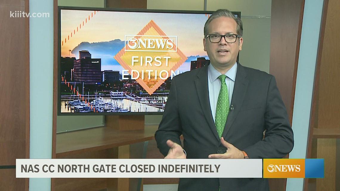 North gate at NAS-Corpus Christi closed indefinitely