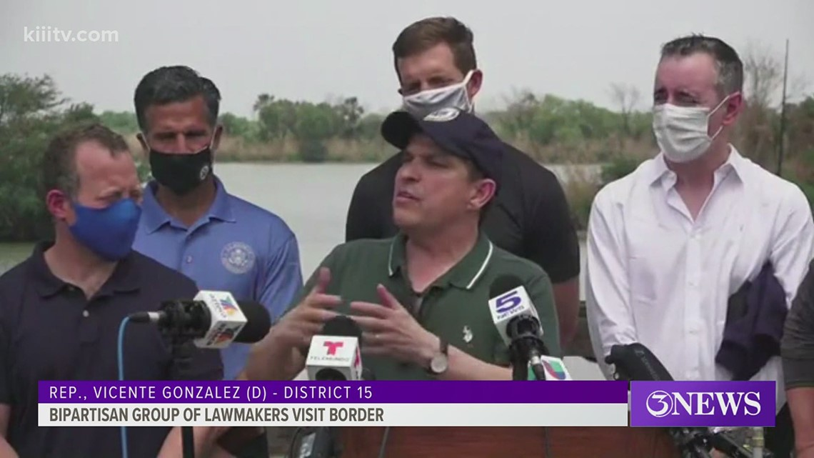 Bipartisan group of lawmakers call themselves 'The Problem Solvers' as they visit the crisis at the border
