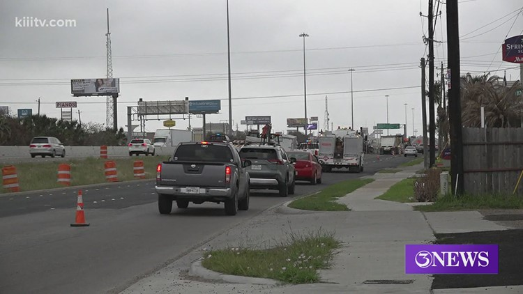 SPID ramp reversal project paused for holiday weekend